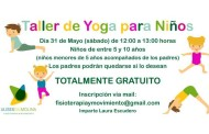 Taller gratuito de yoga para niños