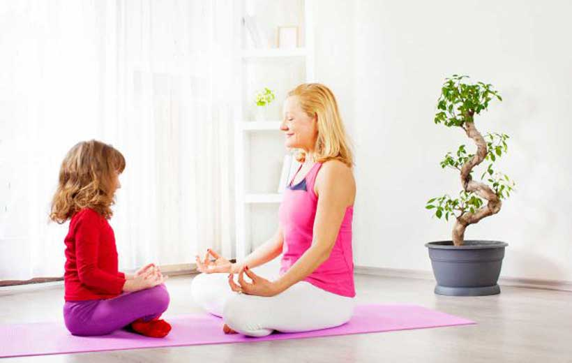 Taller infantil de yoga en inglés