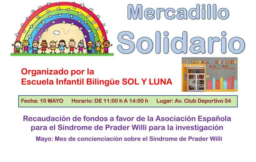 Mercadillo solidario en CEI Sol y Luna