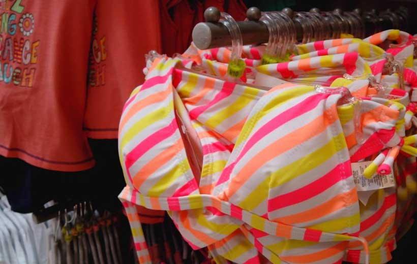 Bikinis con relleno para niñas de 9 años