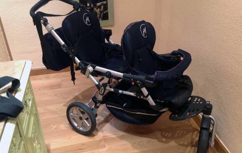 Se vende: silla para gemelos