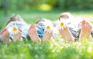 Yoga para niños en verano