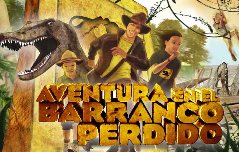 Diviértete entre dinosaurios: El Barranco Perdido