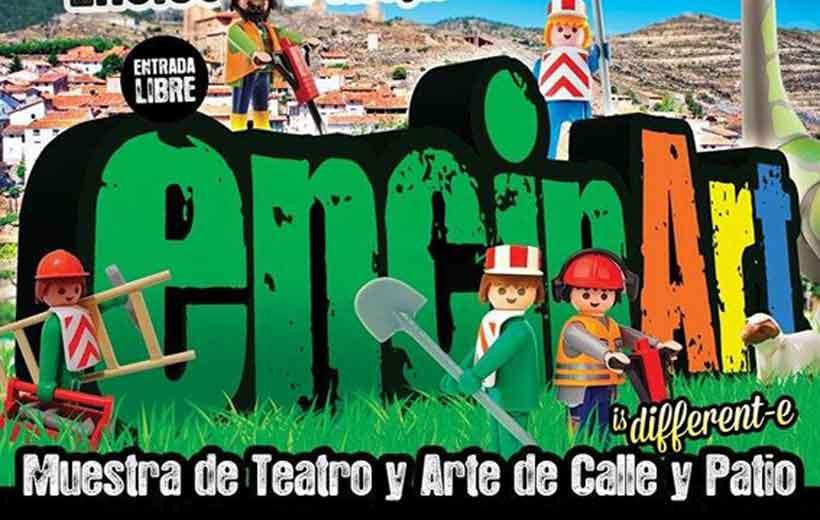Teatro y arte en las calles de Enciso