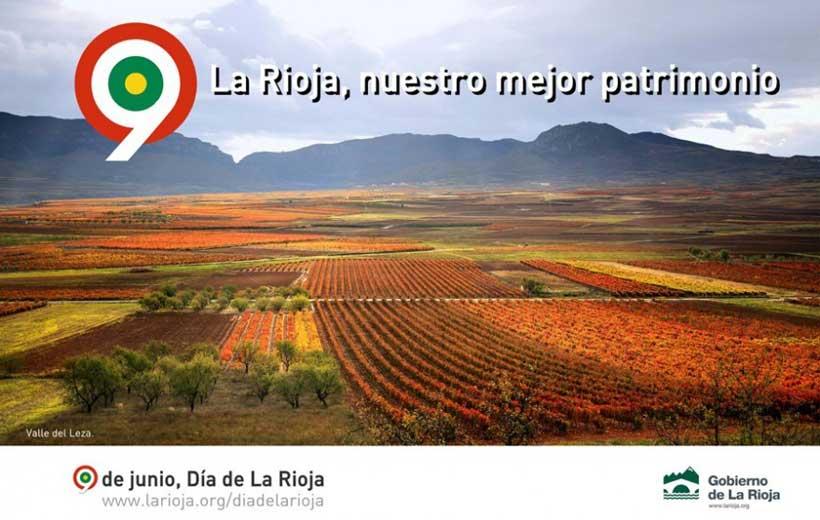 Este 9 de junio, no te vayas de La Rioja
