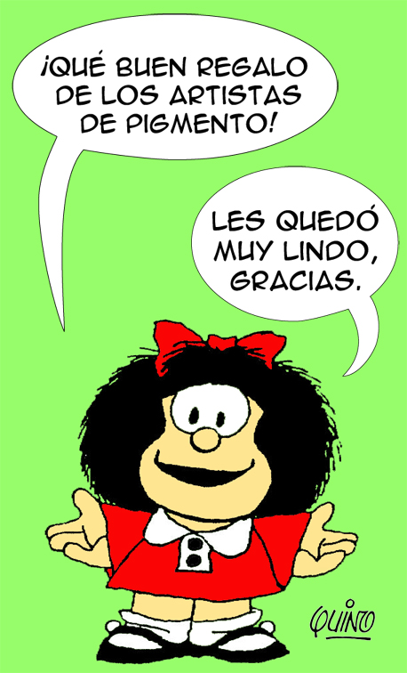 Expo Mafalda en Pigmento