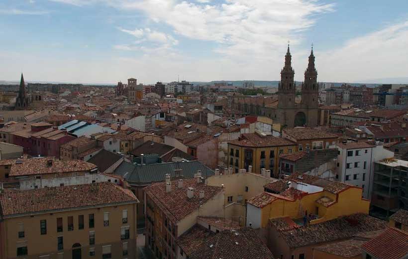 Logroño a vista de pájaro: visitas a la torre de Santiago