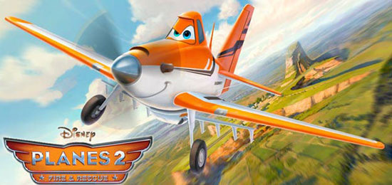 Estreno de la película Aviones 2