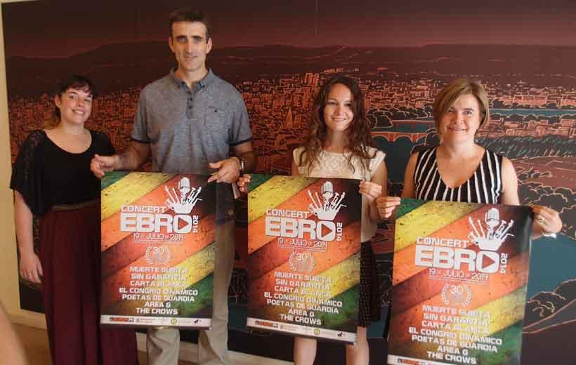 Conciertos en el Ebro
