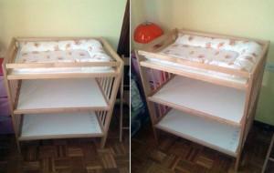 Se vende mueble cambiador el balc n de mateo - Mueble cambiador ikea ...