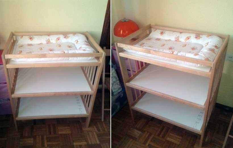 Se vende mueble cambiador el balc n de mateo for Mueble cambiador ikea