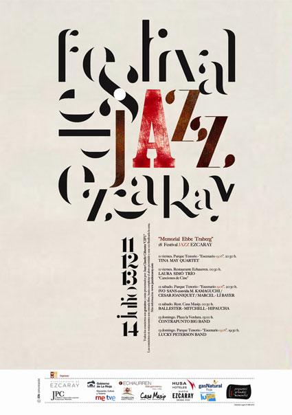 Cartel Festival jazz ezcaray 2014