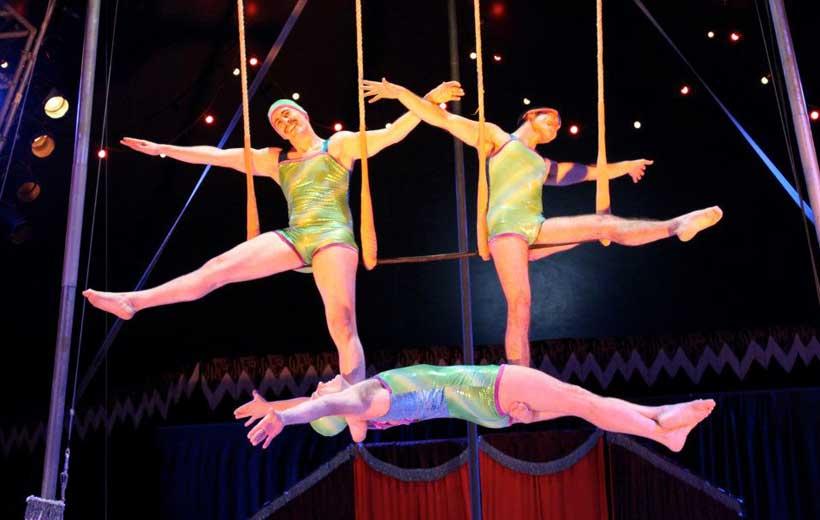 Arte circense en el Bretón