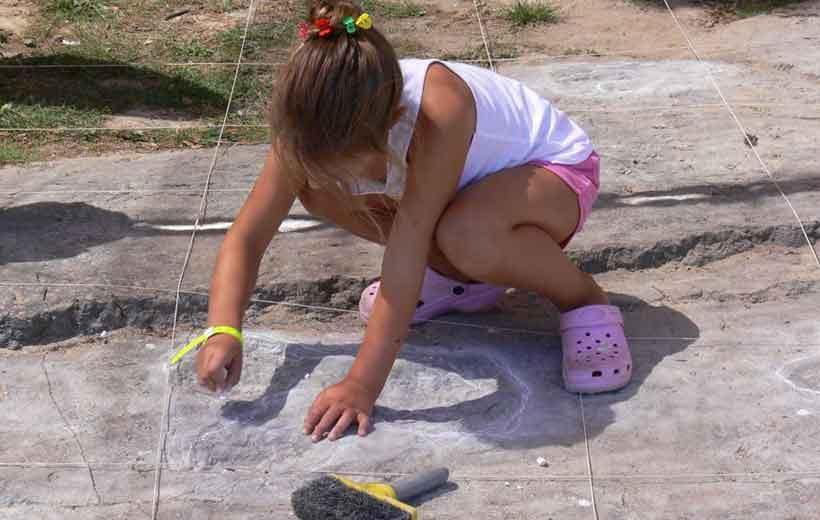 Conviértete en paleontólogo en Igea