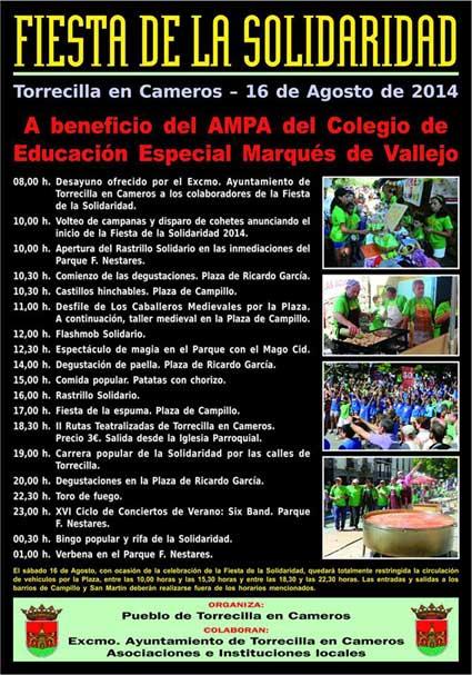 cartel-fiesta-solidaridad Torrecilla 2014