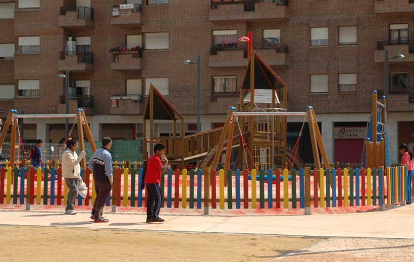 """Un """"nuevo"""" parque en el centro de Logroño"""