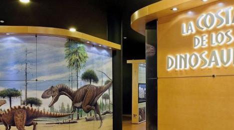 Exposición sobre dinosaurios