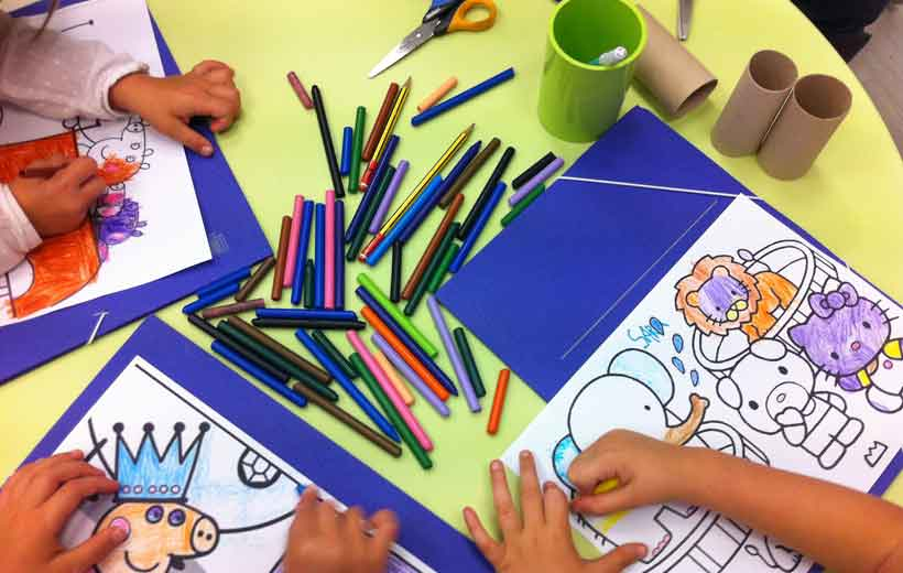 Taller de manualidades 'Back to School'