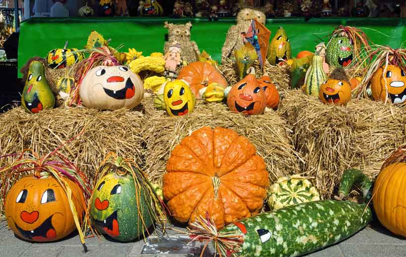 Decoraci n de calabazas de halloween el balc n de mateo - Decoracion calabazas halloween ...