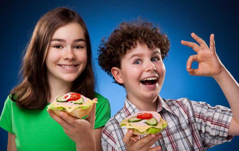 20 cenas sencillas y sanas para los niños