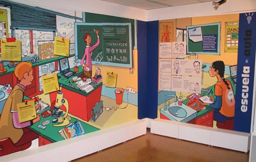 Exposición sobre inventos e inventores