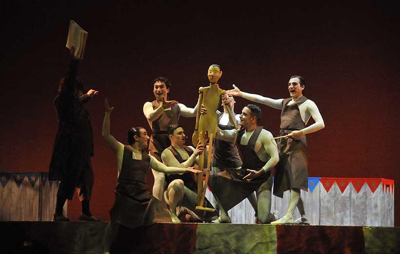 El musical de Pinocho, en Riojaforum