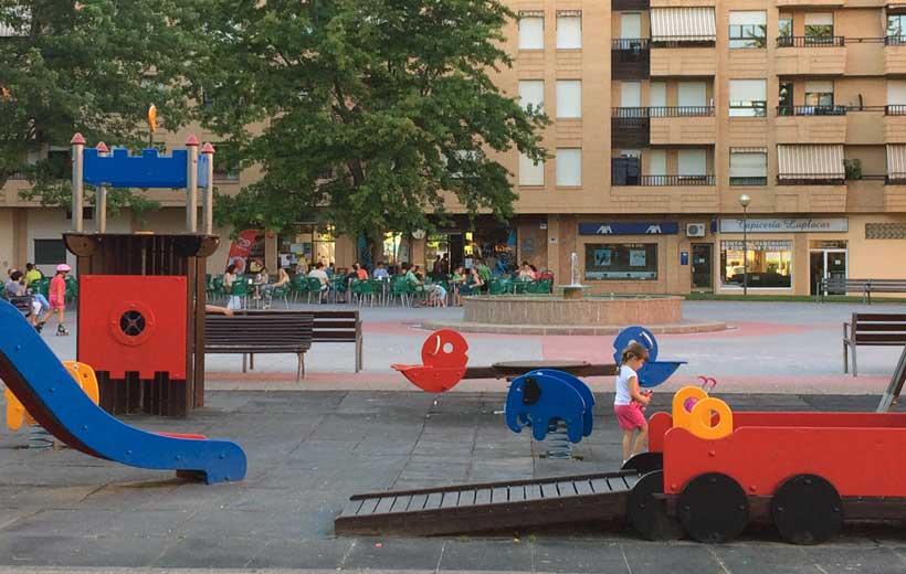 300.000 euros para juegos infantiles