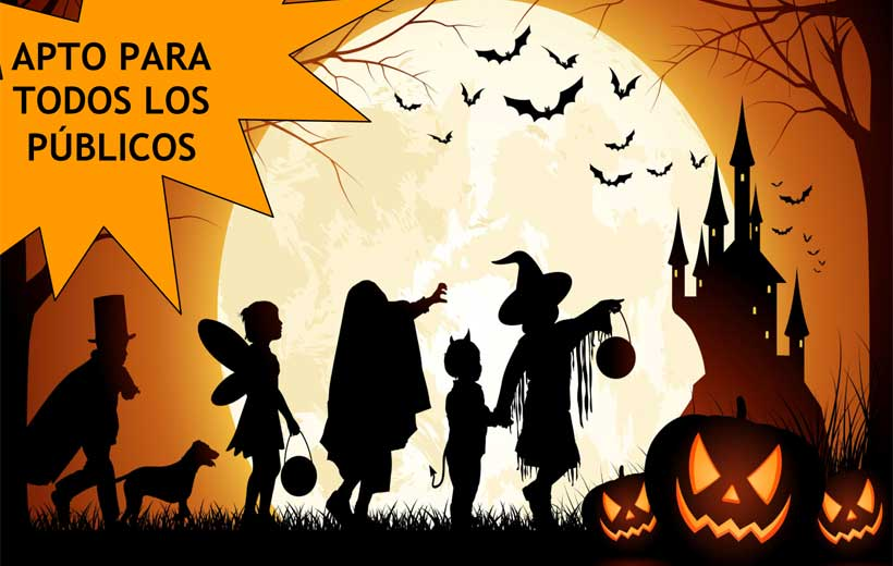 Cuentos de Halloween y magia en directo