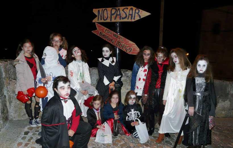 Fiesta de las Calaveras en Torrecilla