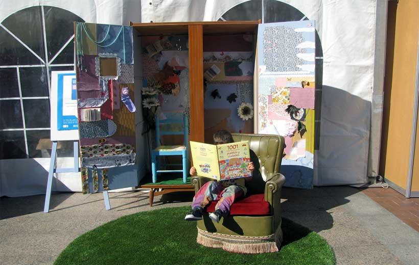 Cuentacuentos y talleres en la Feria del Libro