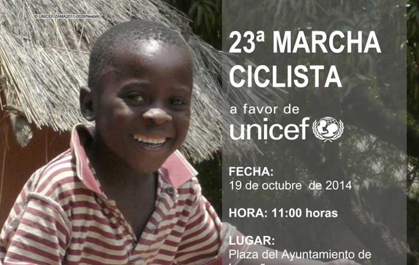 Marcha ciclista a beneficio de UNICEF