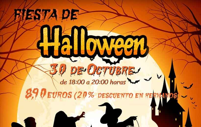 Fiesta de Halloween en Princesas y Piratas