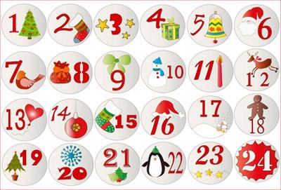 Crea Tu Calendario De Adviento El Balcon De Mateo - Calendario-de-adviento