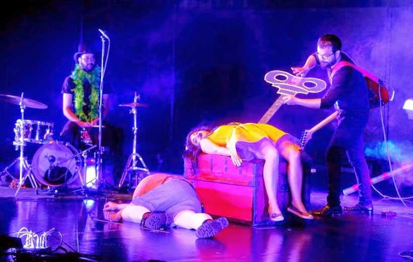Concierto-teatro con Palodú, en Santos Ochoa