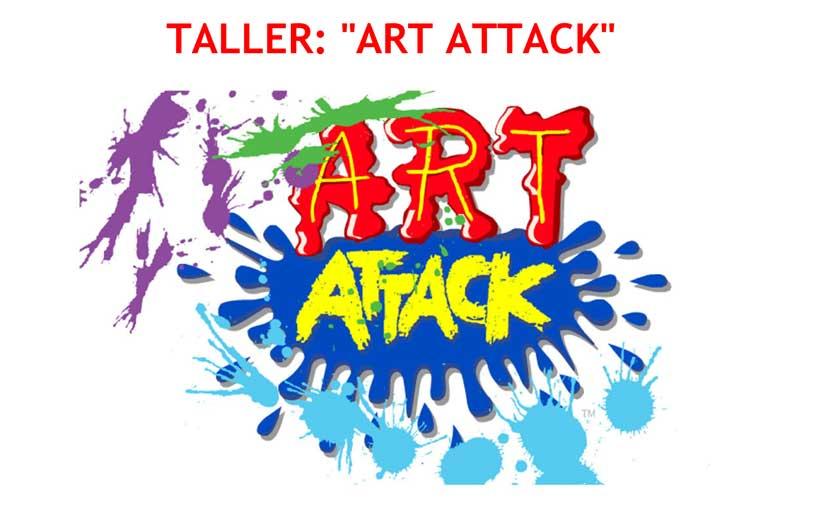 Talleres Art Attack en inglés