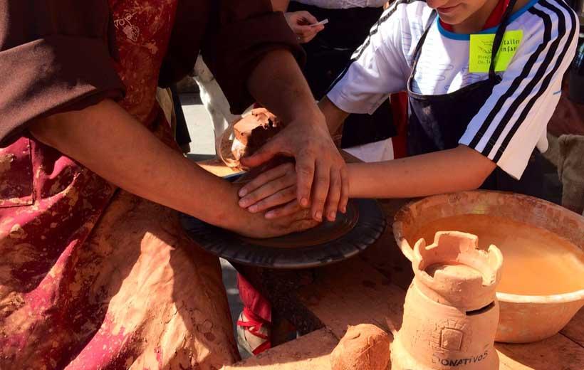 Visita y taller a una alfarería de Navarrete