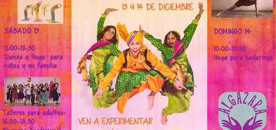 Danza Bollywood y yoga en familia