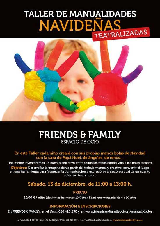 Taller-manualidades-Navidad-Friends-and-family
