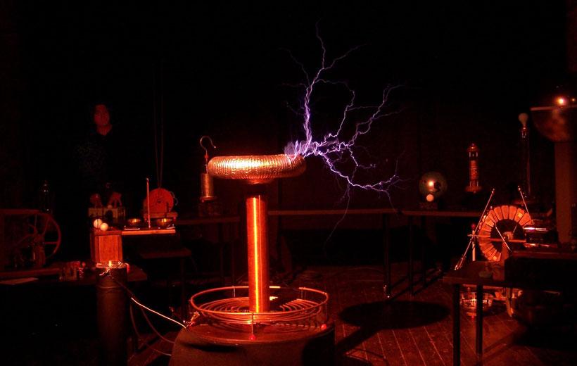 Teatro científico en la Casa de las Ciencias
