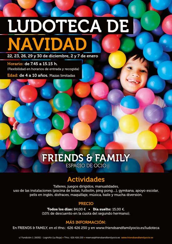 cartel-ludoteca-navidad-friends-and-family