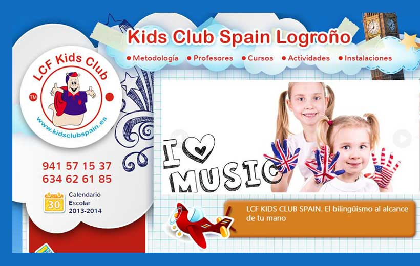 LCF Kids Club Logroño, el inglés que triunfa en todo el mundo