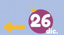 Programacion Navidad viernes 26 diciembre
