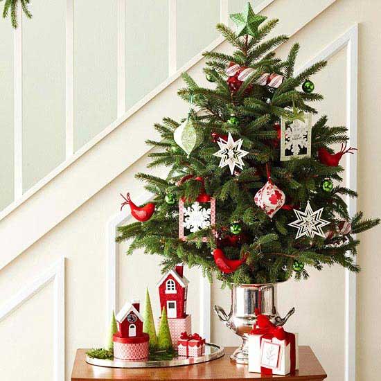 2e270f4479c ideas para decorar el árbol de Navidad