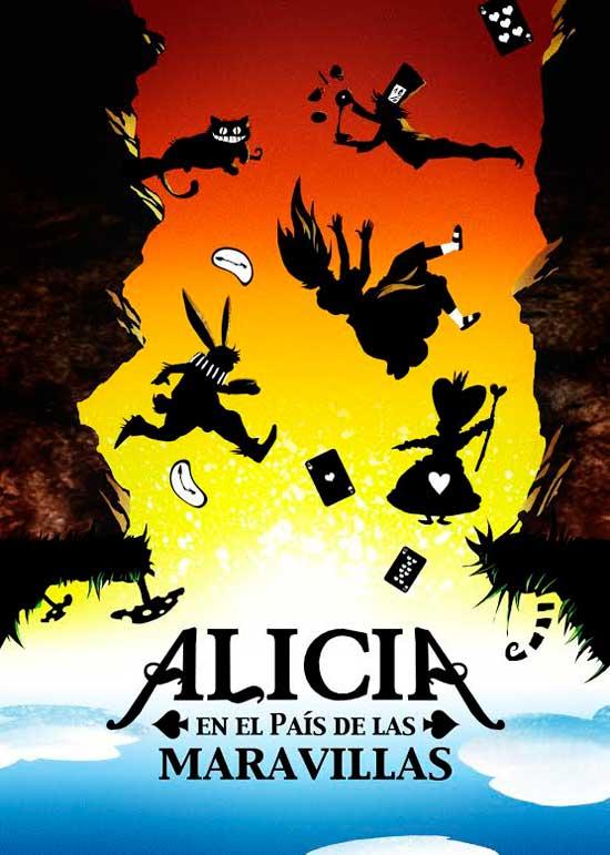 Cartel-musical-Alicia-en-el-pais-de-las-maravillas