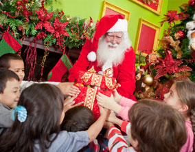 Encuentra a Papá Noel