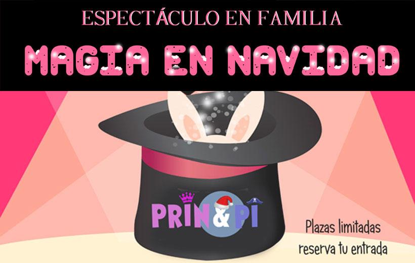 Fiesta de la magia en Prin & Pi