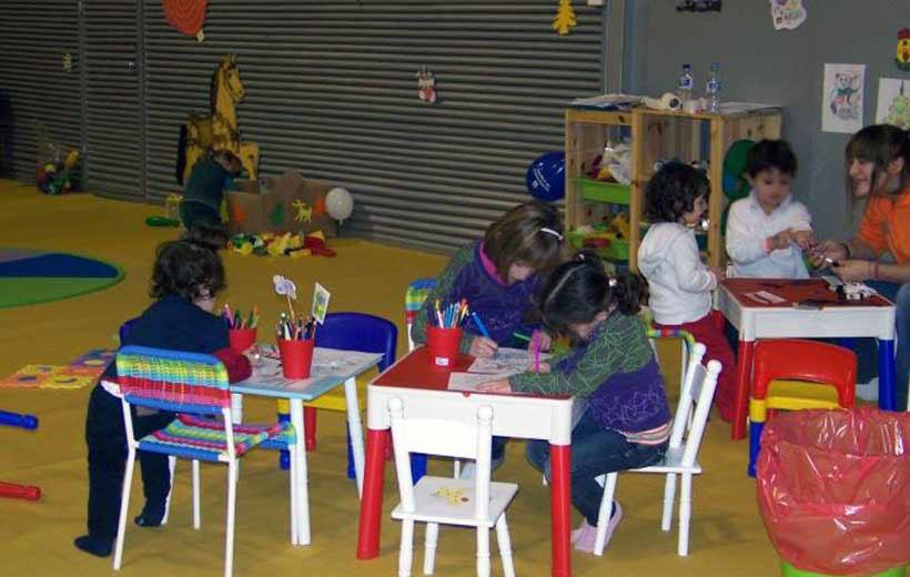 Ludoteca de Navidad El Trébol, en Leo Minipark