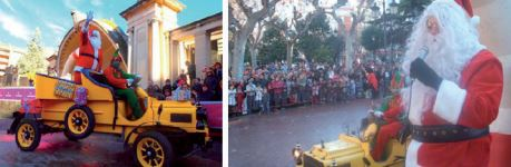 Papa Noel en Logrono