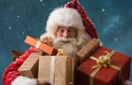 Papá Noel recibe a los niños la tarde de Nochebuena