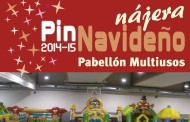 Parque infantil de Navidad en Nájera